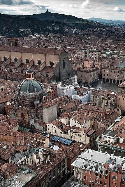 Bologna, province of Bologna , Emilia Romagna, Italy...our midway stop for trip to Europe in the spring/early summer...