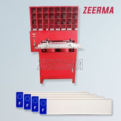 Embossing press Victio license plate machine