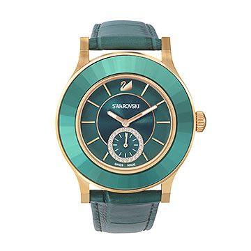 Affichant une fabuleuse association de vert émeraude et de tons rose doré, cette montre classique et cependant tendance est un vrai chef d'œuvre.... Acheter