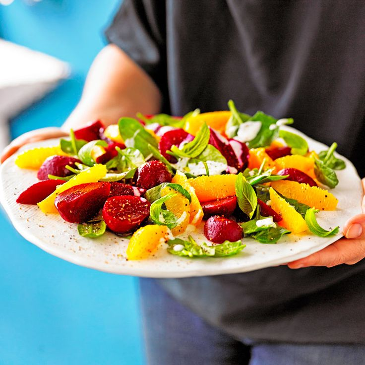 Beetroot and orange salad | Recipes | Weight Watchers NZ