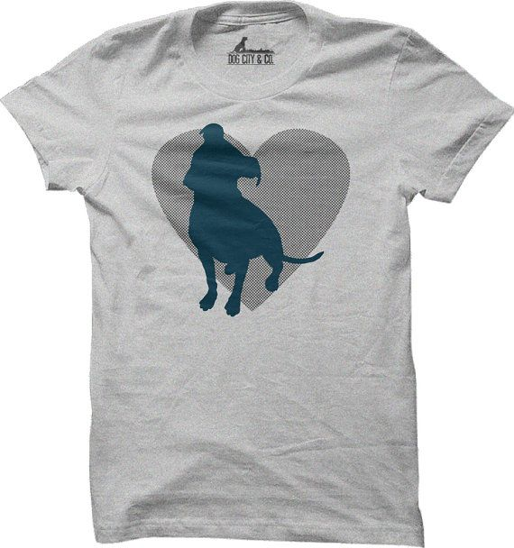 Hey, I found this really awesome Etsy listing at https://www.etsy.com/listing/168249117/pit-bull-heart-t-shirt-4-shirt-colors