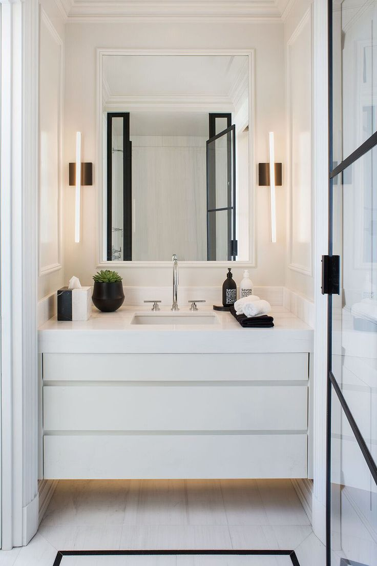 993 best Modern Design images on Pinterest   Half bathrooms ...