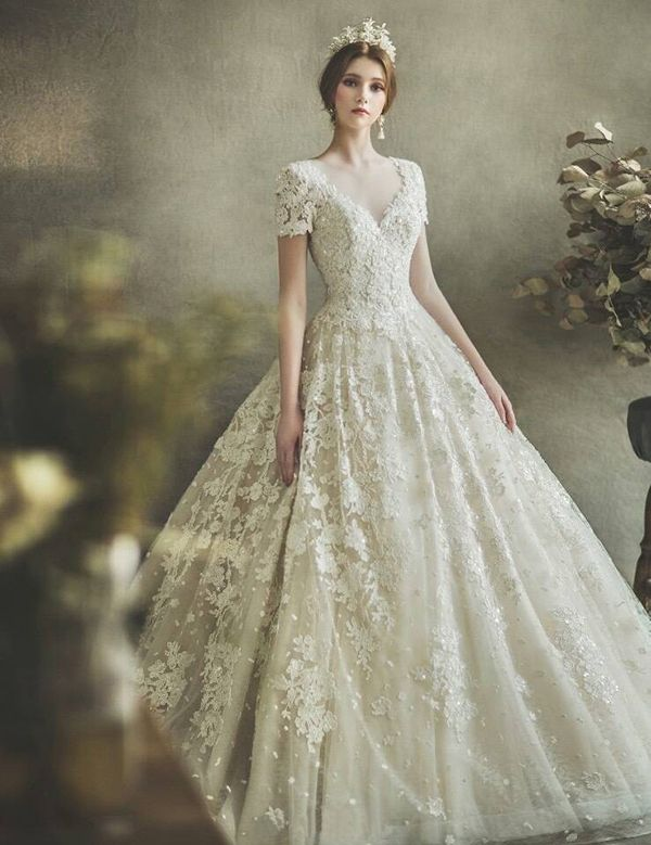 This Clic Wedding Gown From Clara Is The