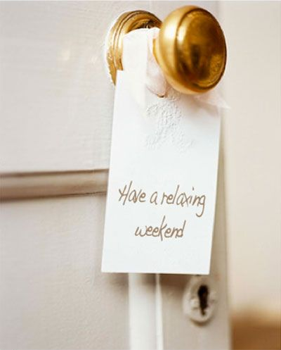 weekendGuest Room, House Guest, Happy Friday, The Weekend, Doors Knobs, Long Weekend, Doors Signs, Relaxing Weekend, Happy Weekend