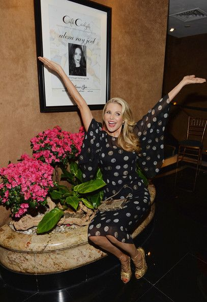 (S) Christie Brinkley Photos - Alexa Ray Joel Performs in NYC - Zimbio