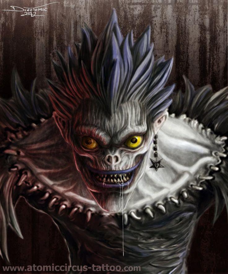 ryuk Death Note by AtomiccircuS.deviantart.com on @deviantART