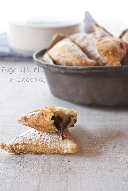 Mon petit bistrot: Fagottini ricotta e cioccolato