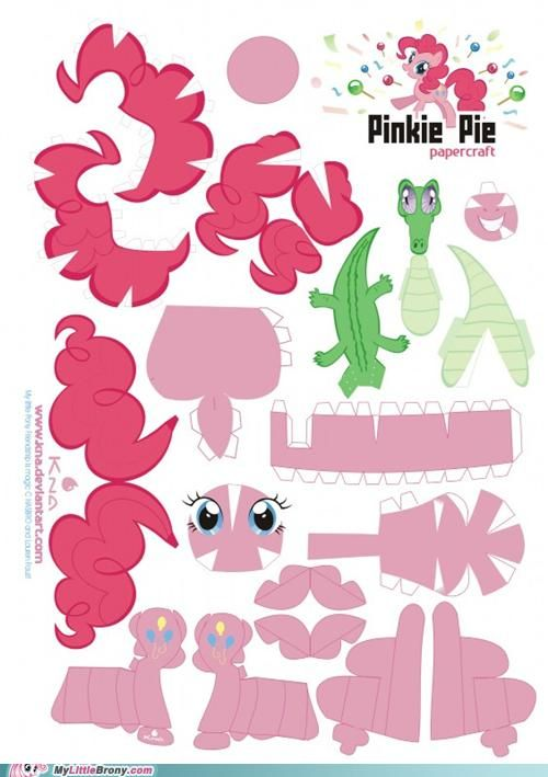 My Little Pony paper dolls!  - These are just too cute.