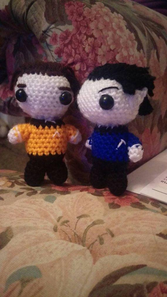 Amigurumi Star Trek : 130 best images about Star Trek Crochet on Pinterest ...