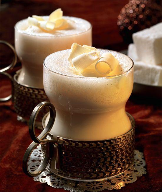White Hot Mocha....recipe calls for milk, cream, vanilla bean, good ...