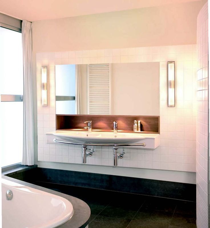 Pic Of Shop allen roth Vallymede Brushed Nickel Standard Bathroom Vanity Light at Lowe us Canada Find our selection of bathroom vanity lighting at the lowest