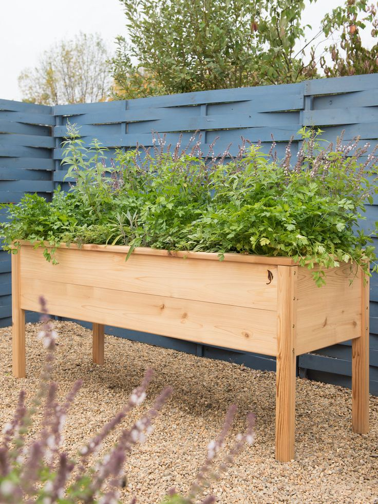 CedarLast Elevated Planter Box, 2' x 6'
