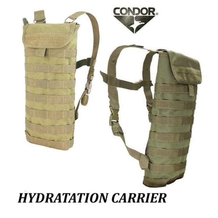 Condor HCB MOLLE Idrosystem 2.5 litri completo - Sistemi idratazione - Equipment