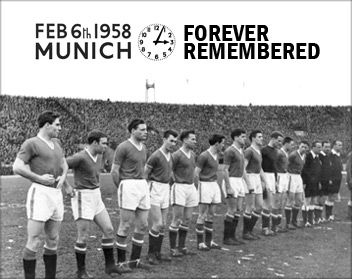 On 6 February 1958, a charter plane carrying 44 people crashed after refuelling at Munich Airport. The accident claimed 23 lives, among them eight Manchester United players and three club officials. We hope these pages are a fitting tribute to the young United side many believe would have gone on to dominate European football - the Busby Babes. We will never forget.
