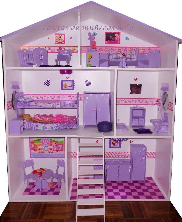 M s de 1000 ideas sobre casas de mu ecas en pinterest - Como hacer casas en miniatura ...