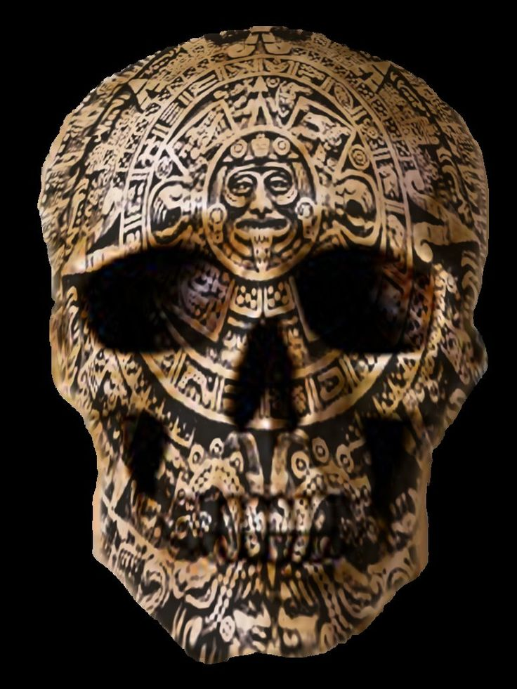 Mayan Skull by ~rubengenesis on deviantART