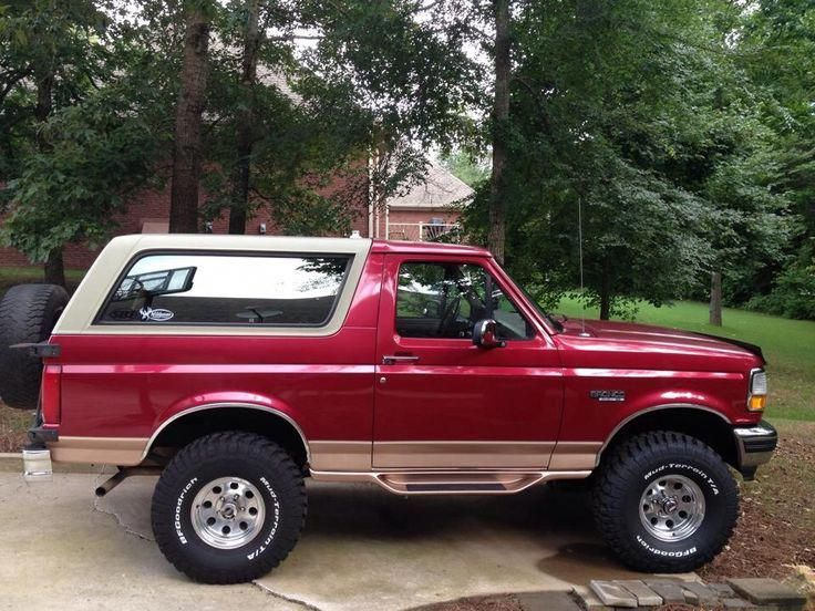 This car is my dream ride. So wonderful newfordbronco in