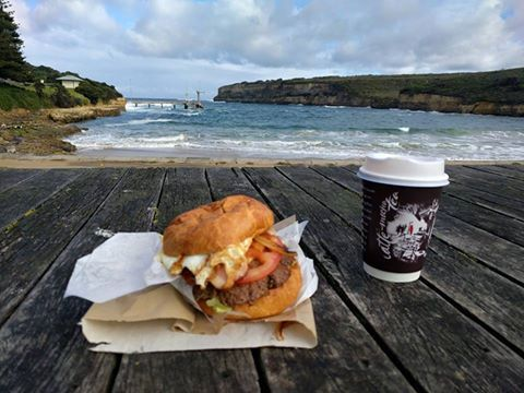 Jurgen from Gutter-Vac Geelong had a pretty good view with his lunch! Image taken in Port Campbell, VIC