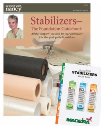 A good stabilizer prolongs the life of machine embroidery, helps keep the stitches intact, and keeps your sewing machine running smoothly. Stabilizers play a key roll in producing professional look...