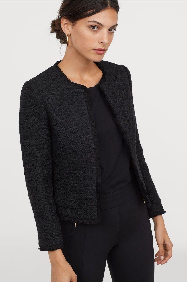 5f3d251c912 Short Jacket | Clothes | Jackets, Blazer dress, Blazer vest