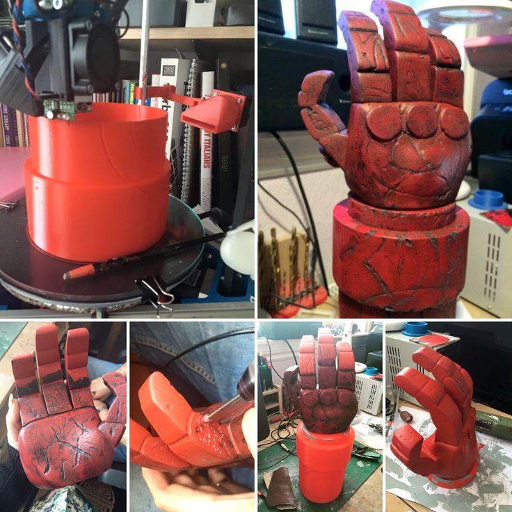 Building my Hellboy Right Hand of Doom