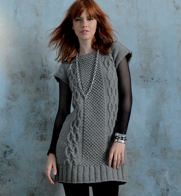 Modele robe tricot femme gratuit modele pull garcon tricot gratuit ... 53ee1085166