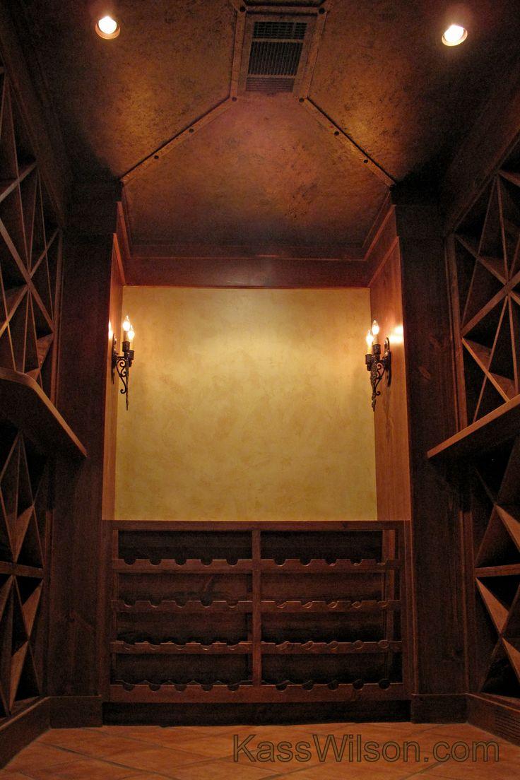 33 best wine cellar images on pinterest wine cellars wine a small storage closet is converted to an elegant wine cellar kasswilson arubaitofo Choice Image