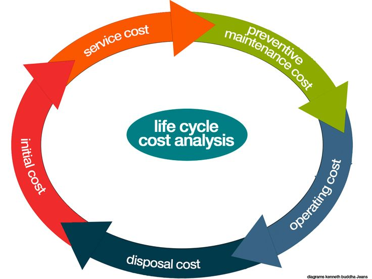 Graphics Kenneth Buddha Jeans Life cycle cost