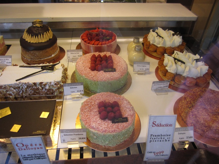 French Patisserie Window