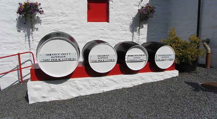 Luxury activities to do in Scotland - Edradour whisky distillery