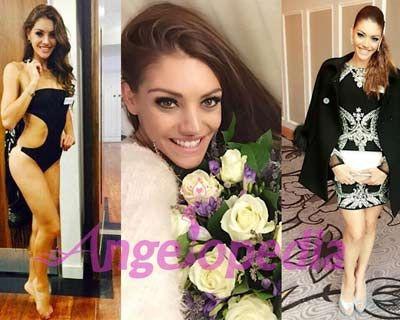 Edina Kulcsár raises Hungary's hope of winning the first ever Miss World 2014 title