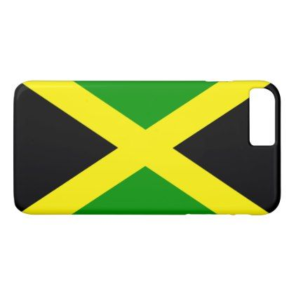 Jamaica flag iPhone 8 plus/7 plus case - individual customized unique ideas designs custom gift ideas