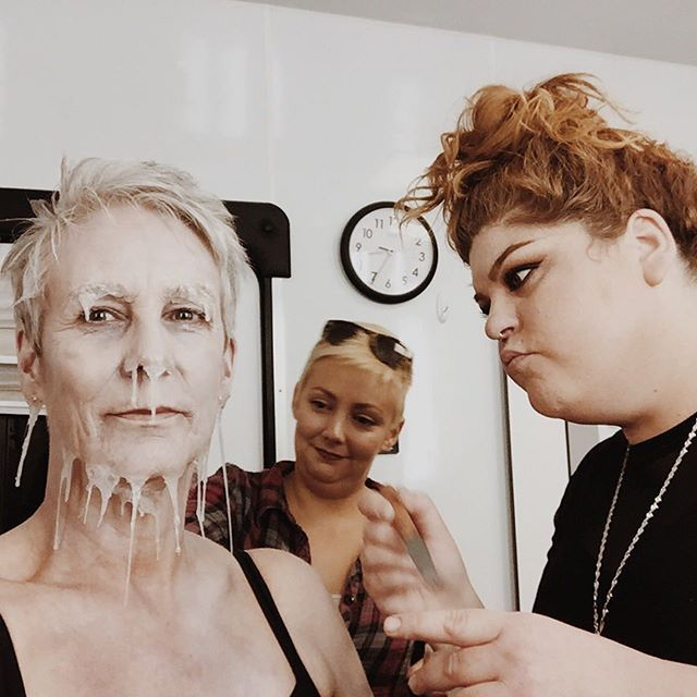 """Melissa Buell leads the Ice Queen team! """"I follow @jennifer_grey on Instagram and she RAVES about cryo!"""" @screamqueensfox #screamqueens ENDS NEXT WEEK!!! NOOOO!"""