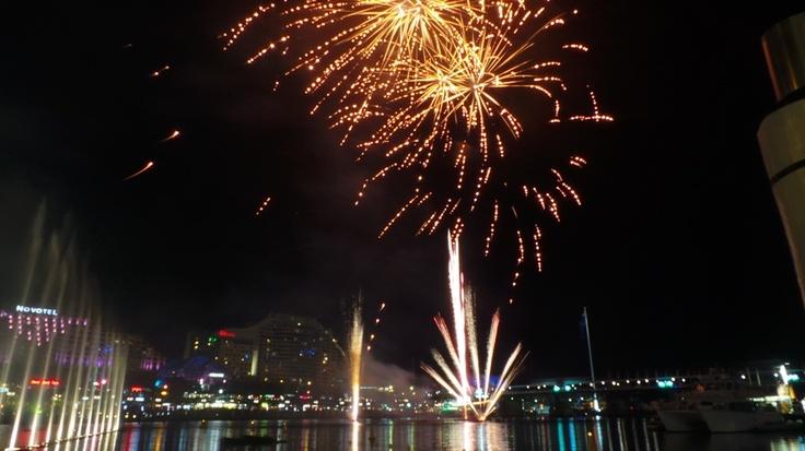 Vivid Sydney 2013 at Darling Harbour