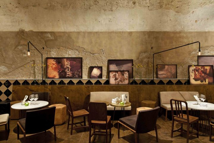 JAJO wine bar restaurant by Dan Troim, Tel Aviv – Israel » Retail Design Blog