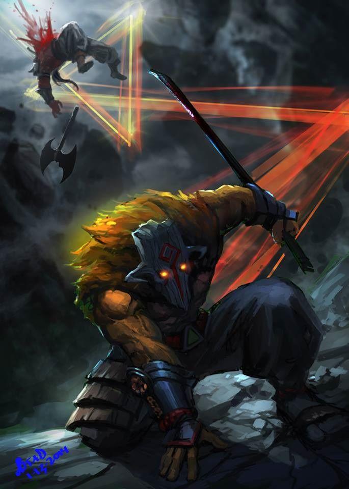#Dota2 Steam 社群 :: :: Axe V.S Juggernaut