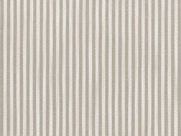 Perennials fabric: Tatton Stripe - Paper Bag