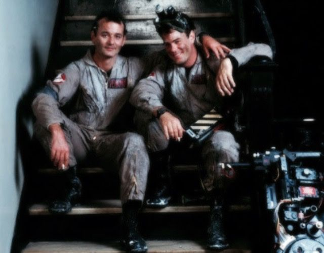 80stimewarp:  Bill Murray & Dan Aykroyd Ghostbusters (1984)
