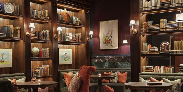 THE 10 BEST LIBRARY-THEMED BARS IN THE WORLD