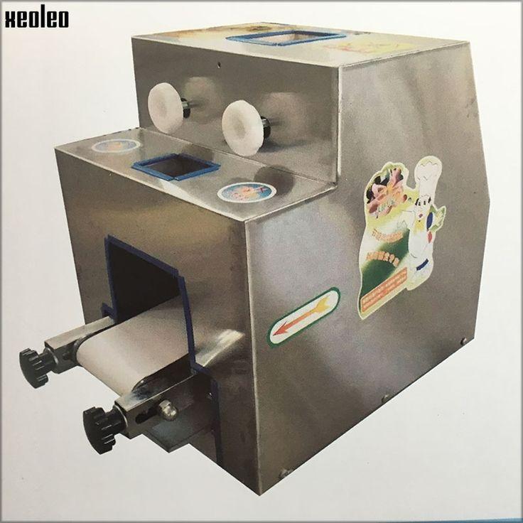 1288.00$  Watch now - http://aliogu.worldwells.pw/go.php?t=32793051556 - Xeoleo Dumpling wrapper Dumpling foreskin maker Dumpling wrapping machine 1000-6000 piece/h Commercial Dumpling machine 220V/50
