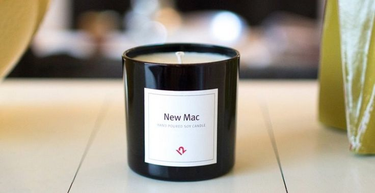 Empresa lança vela aromática com cheiro dos produtos Apple