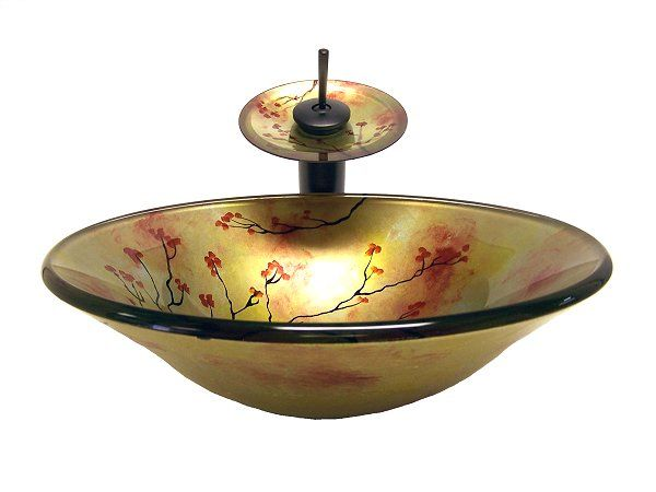 Lotus Vessel Sinks Lotus Tree Glass Vessel Sink Oil