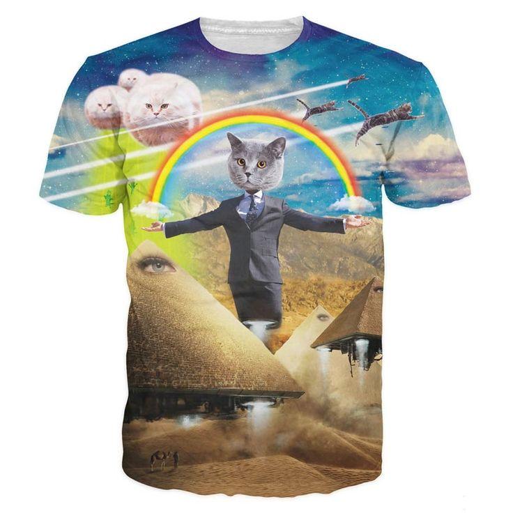 New 2017 Fashion Brand Clothing 3D Printed T-shirts Homme Hip Hop Shirt Summer Man tshirt Men T shirt short sleeveTop Tees