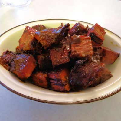 Creole Burnt Ends at oldfatguy.ca