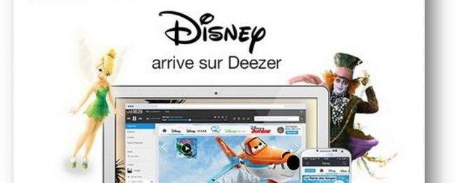 #Disney lance son application pour les utilisateurs de #Deezer
