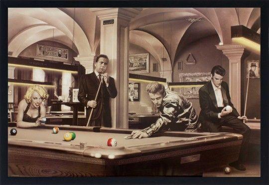 Quadro Decorativo Poster Game of Fate Jogo do Destino s/ Vidro 94x64cm