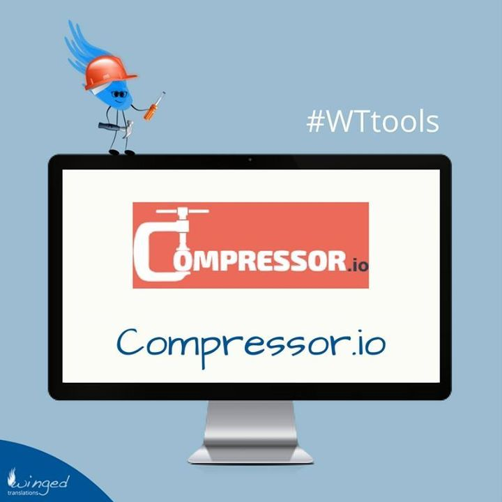 [#WTtools]  Compressor.io is an online tool for reducing the size of your images whilst maintaining a high quality with almost no difference before and after compression.  4 file formats supported: JPEG - PNG - GIF - SVG  2 types of compression: Lossless or Lossy   You can find it here  https://compressor.io/ - http://ift.tt/2cN9V7Q