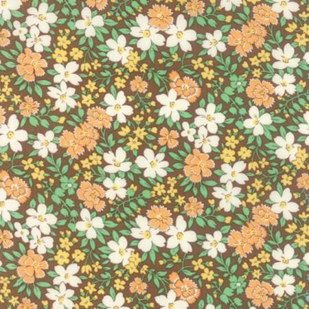 30s Playtime Chloe's Closet - Blossoms - Cocoa - 33040-14