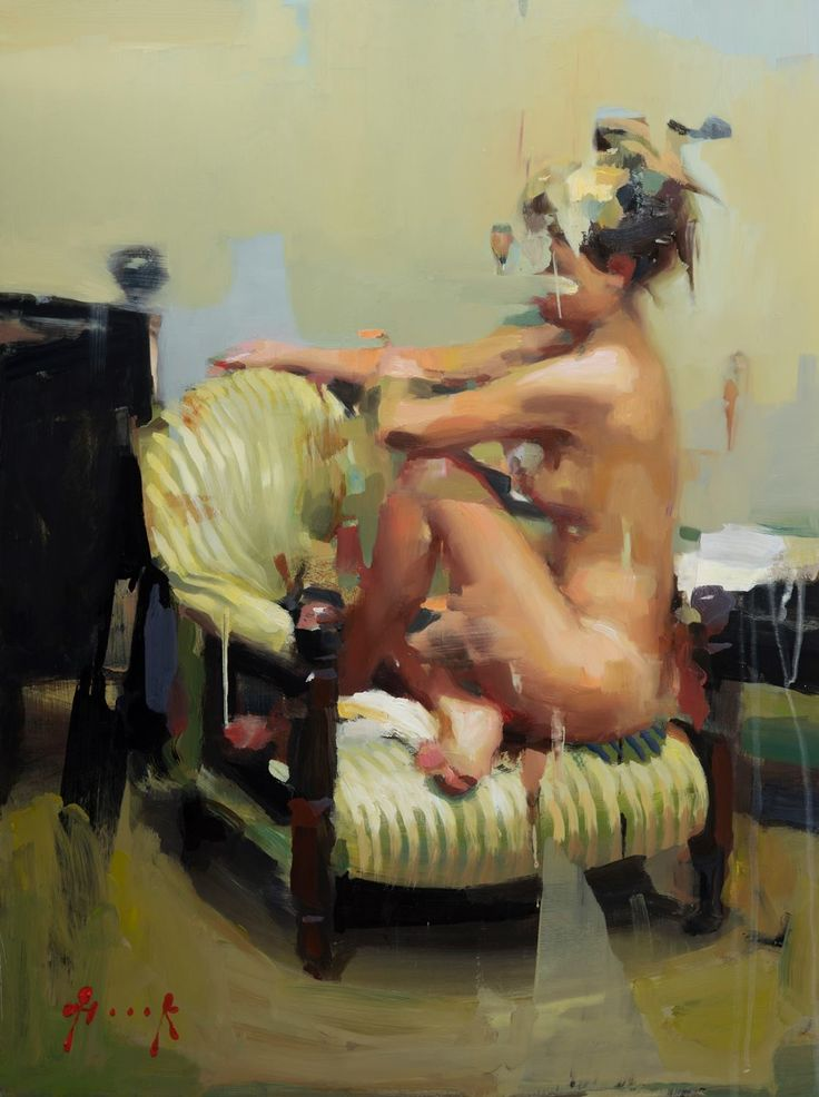 S.A. Seated (2 hour pose) - at The Cavilla Gallery by Christian Hook