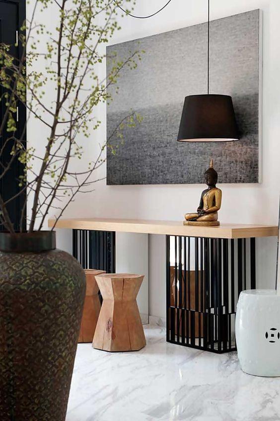 Decor: Budas Na Decoração. Asian InteriorInterior IdeasLiving Room  FurnitureHome ...